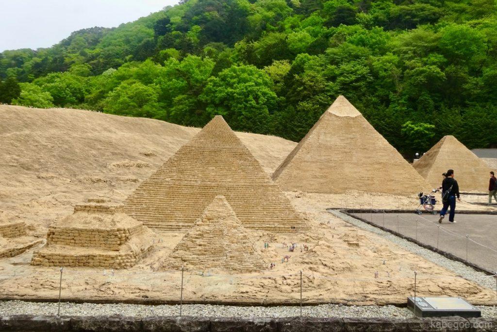 東武ワールドスクウェアのピラミッド