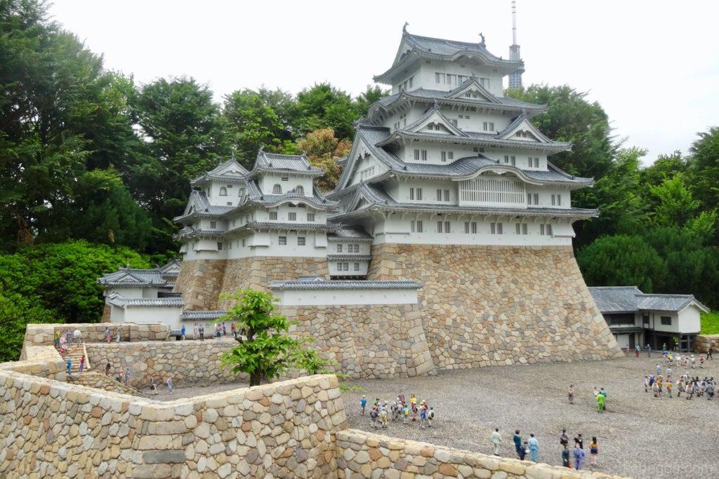 東武ワールドスクウェアの姫路城