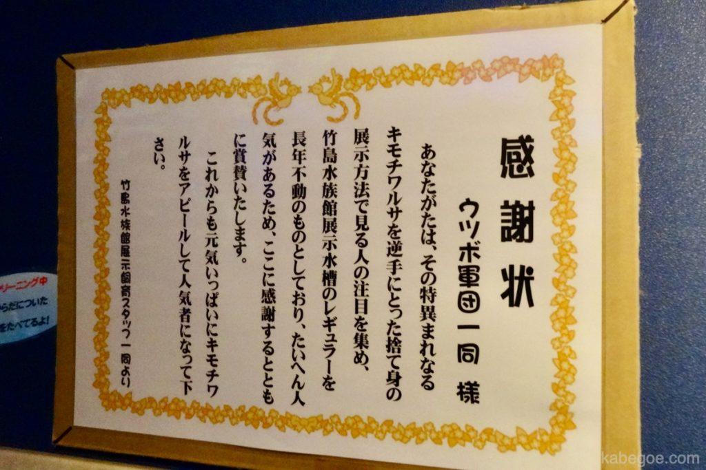 Belut moray di Akuarium Takeshima