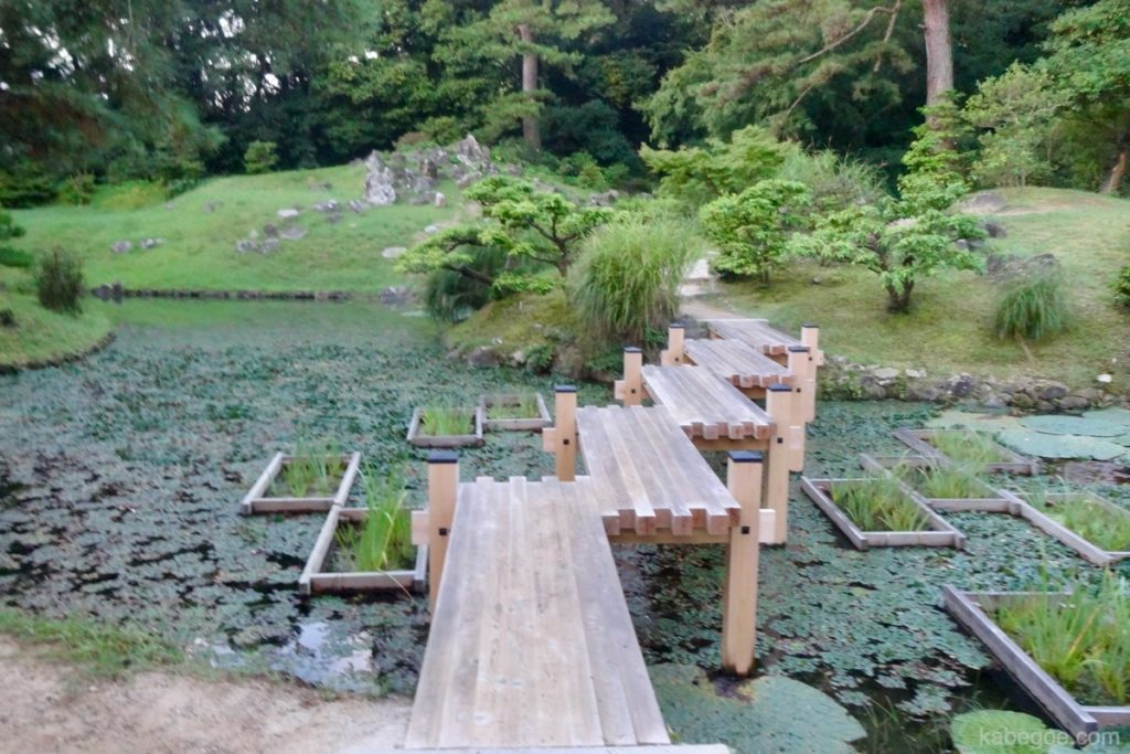 栗林公園の橋
