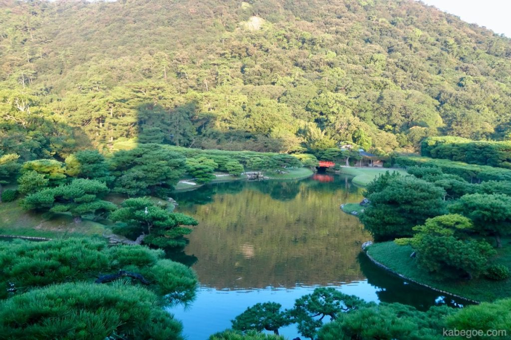 栗林公園の芙蓉峰(ふようほう)