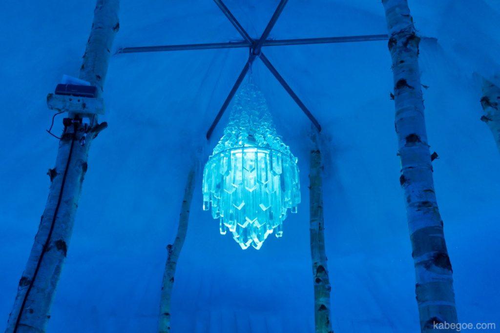 氷濤まつりのクリスタル