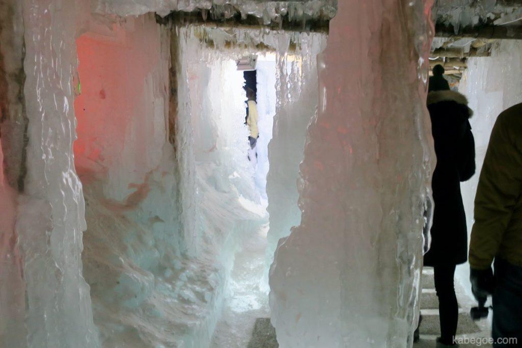 氷濤まつりの内部
