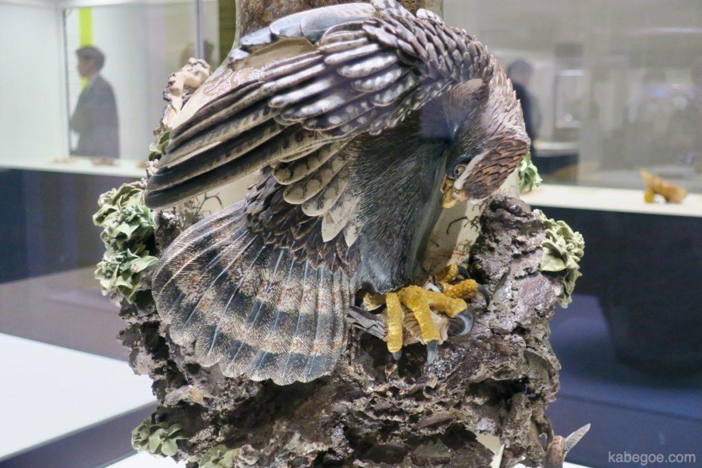 宮川香山の鷹