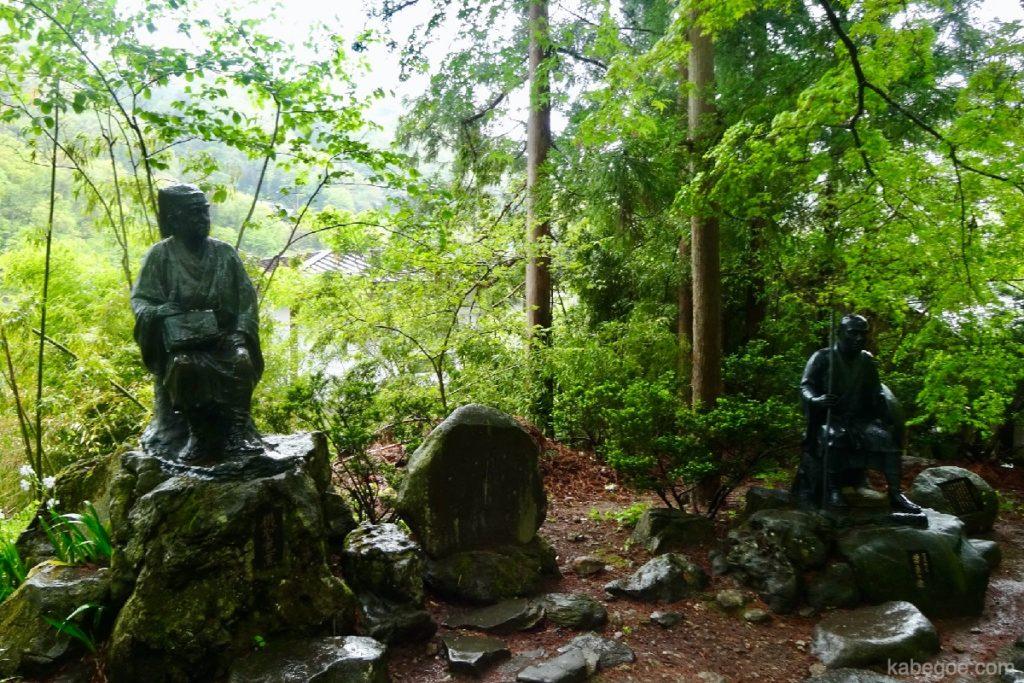立石寺(山寺)の松尾芭蕉