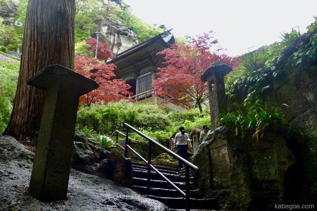 立石寺(山寺)の石段