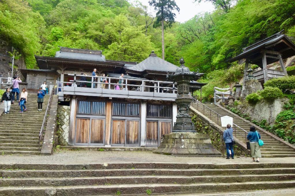 立石寺(山寺)の奥の院