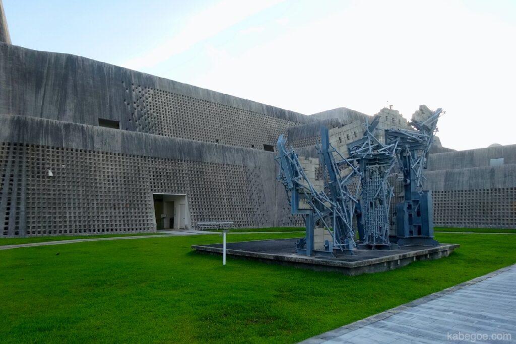 沖縄県立博物館/美術館の外観