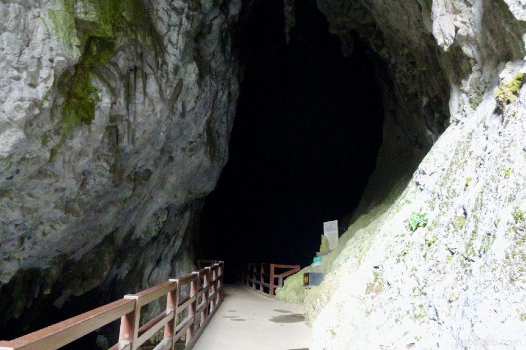 秋芳洞の入り口