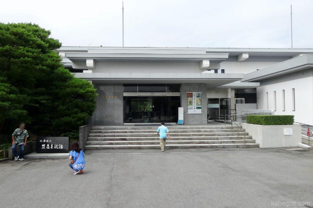 足立美術館の入り口