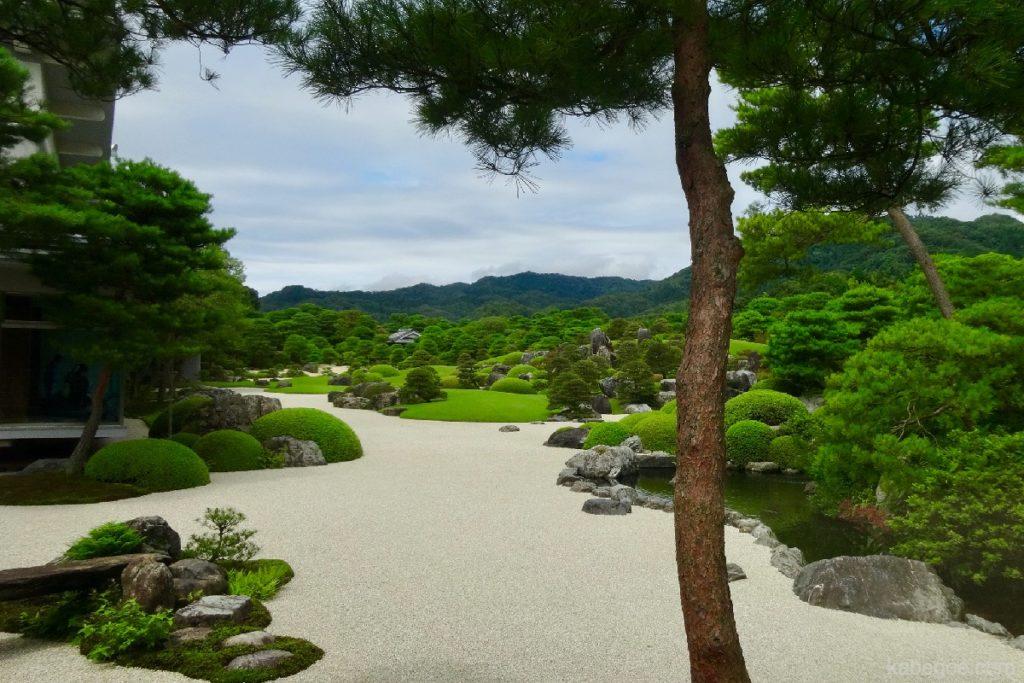 足立美術館の庭園2