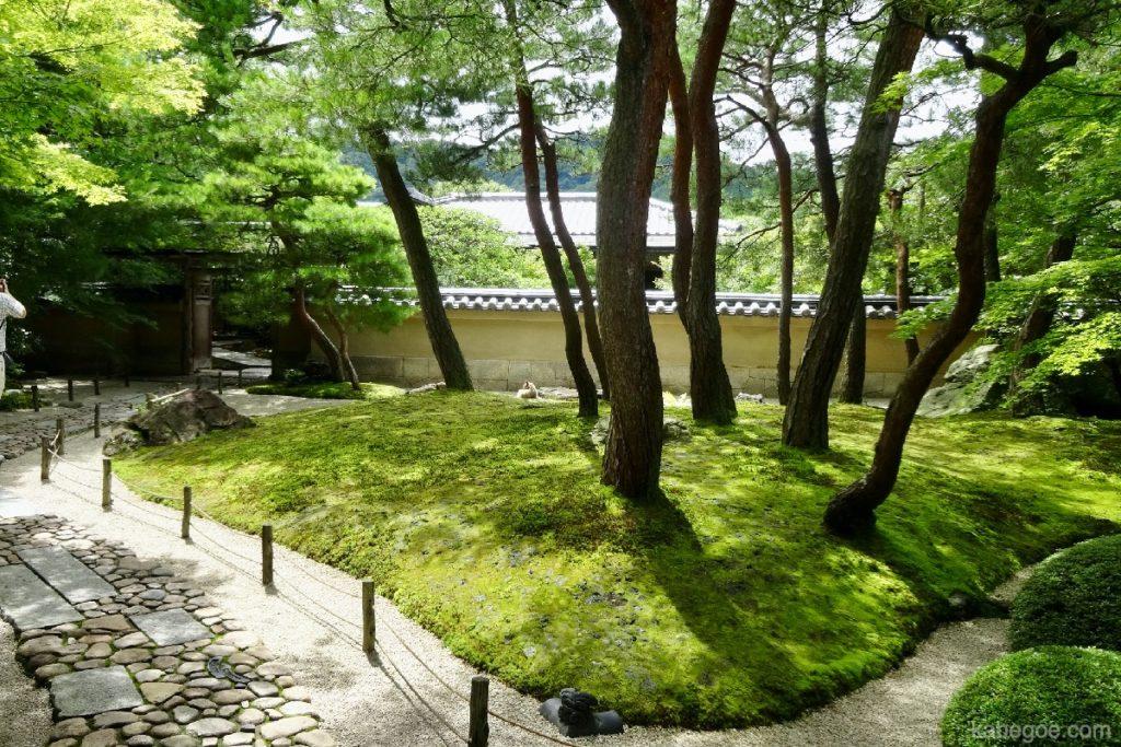 足立美術館の庭園(寿立庵の庭)