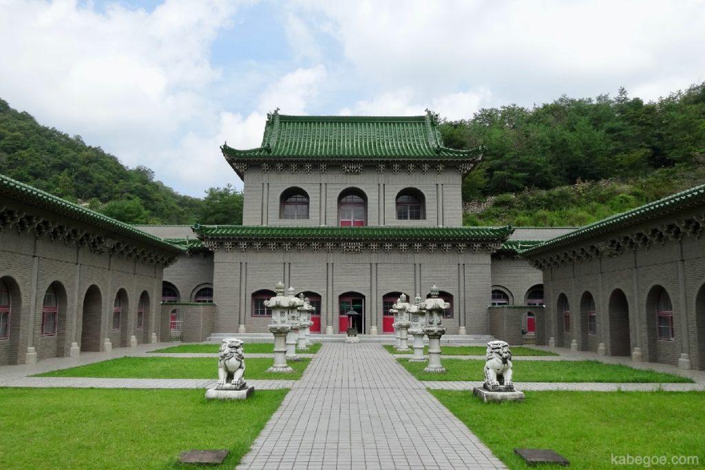 太陽公園の双塔寺