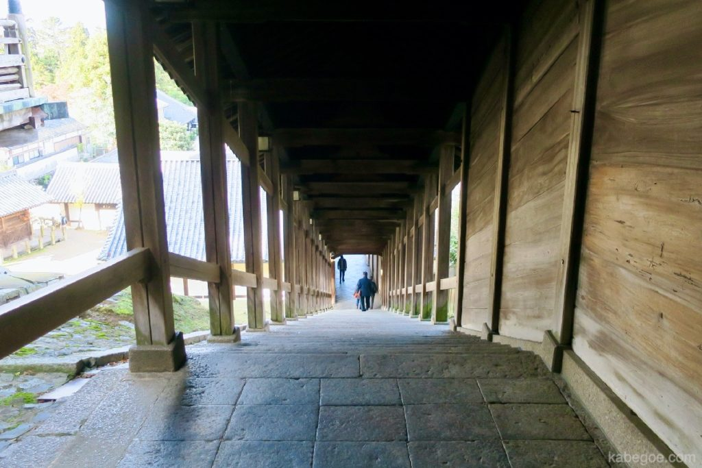 東大寺の裏道
