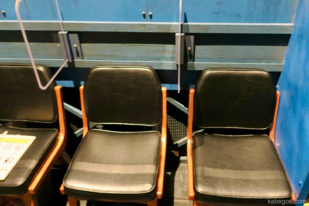ギア-GEAR-の座席