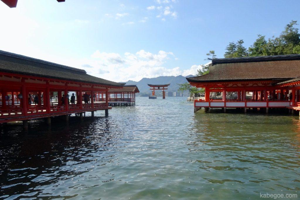 厳島神社の枡形