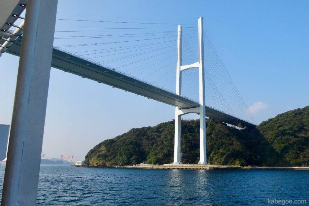 軍艦島の女神大橋