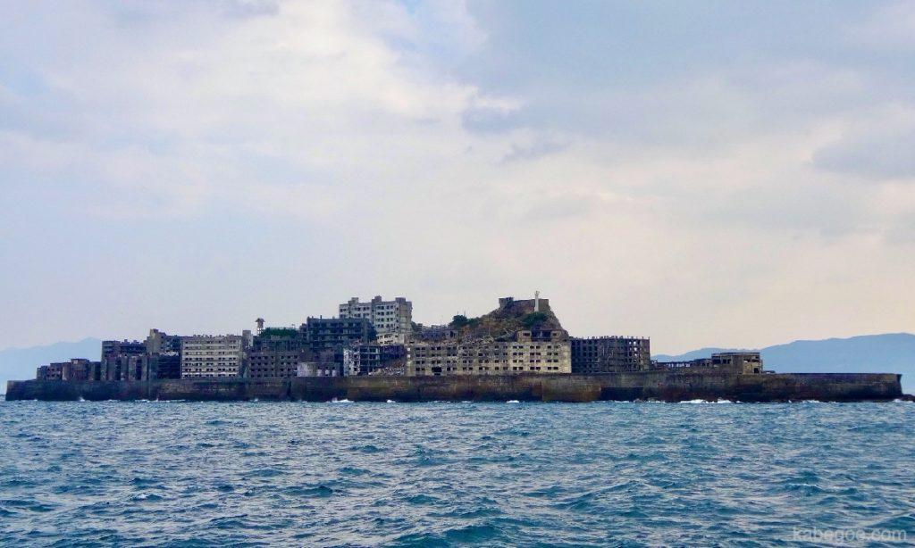 軍艦島の全景