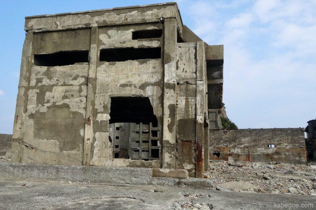 軍艦島の仕立工場