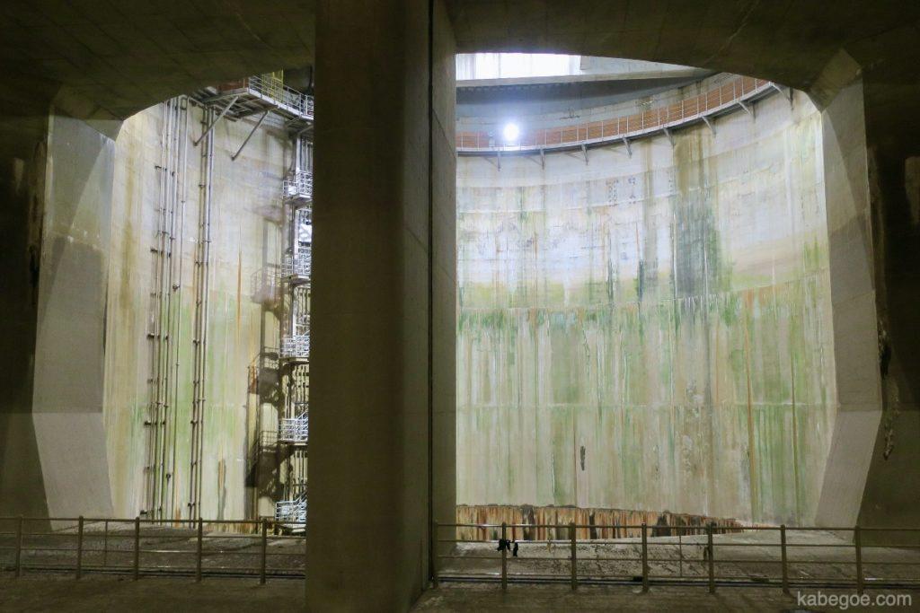 地下神殿の第1立坑