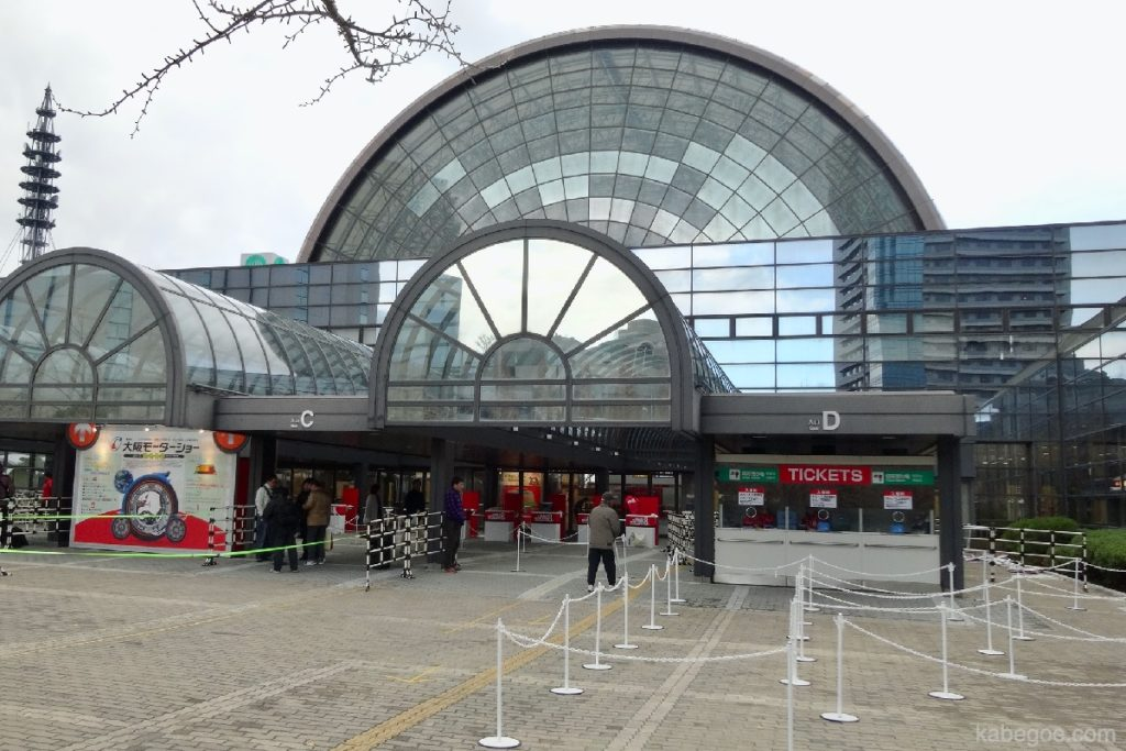 インテックス大阪の外観
