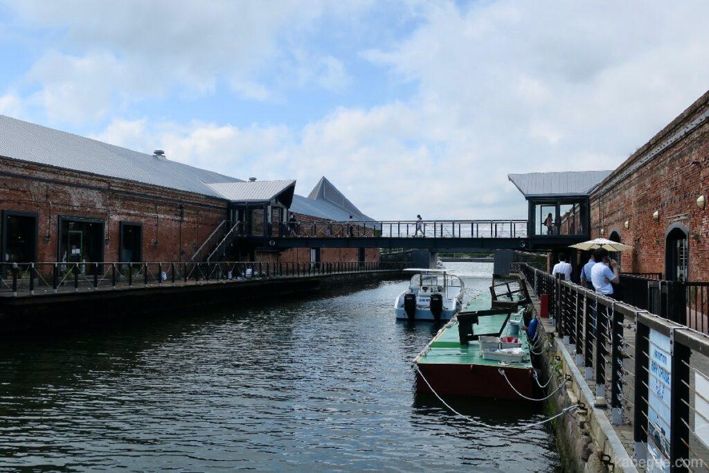 金森赤レンガ倉庫の運河
