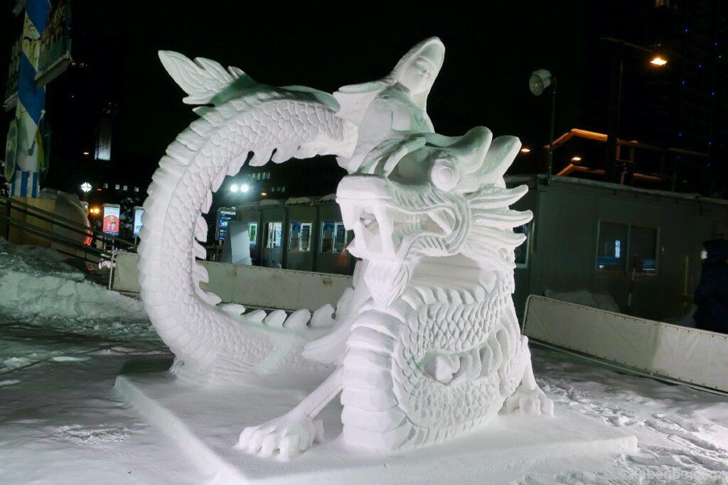 さっぽろ雪まつりの国際コンクール