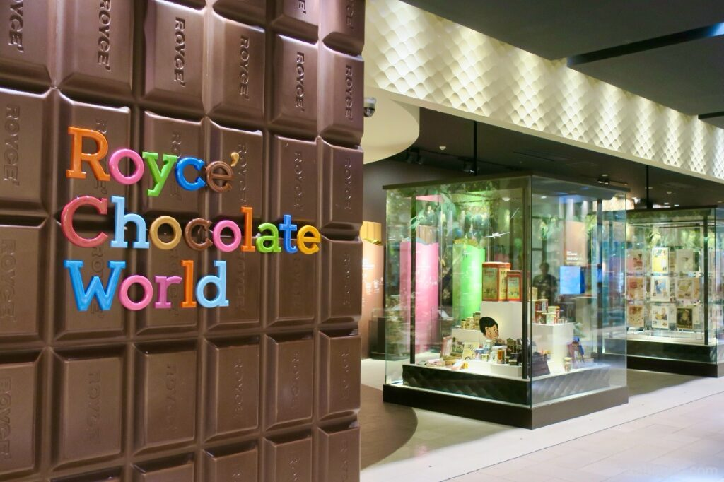 Royce's Chocolate World al New Chitose Airport