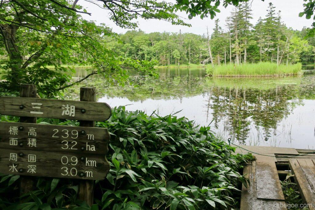 知床五湖の三湖