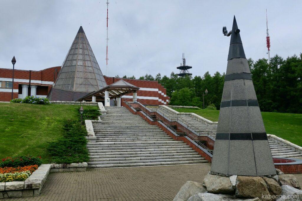 北方民族博物館の外観