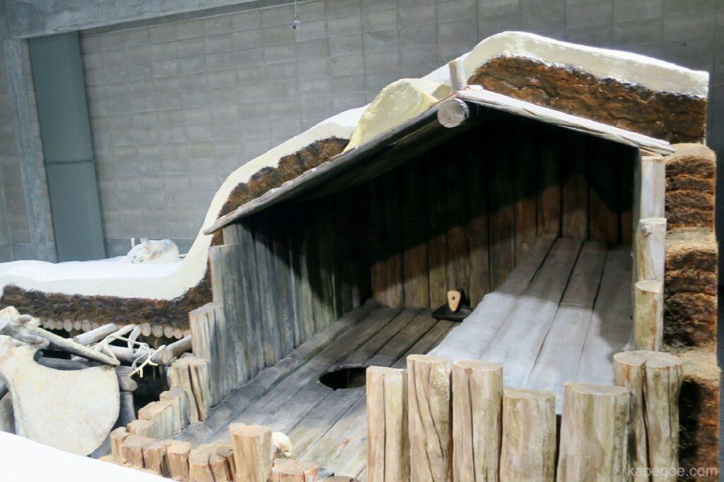 北方民族博物館のエスキモー住居