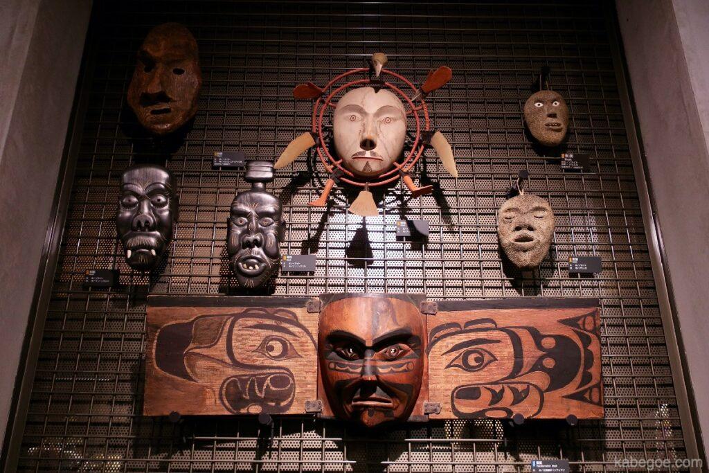 北方民族博物館の仮面