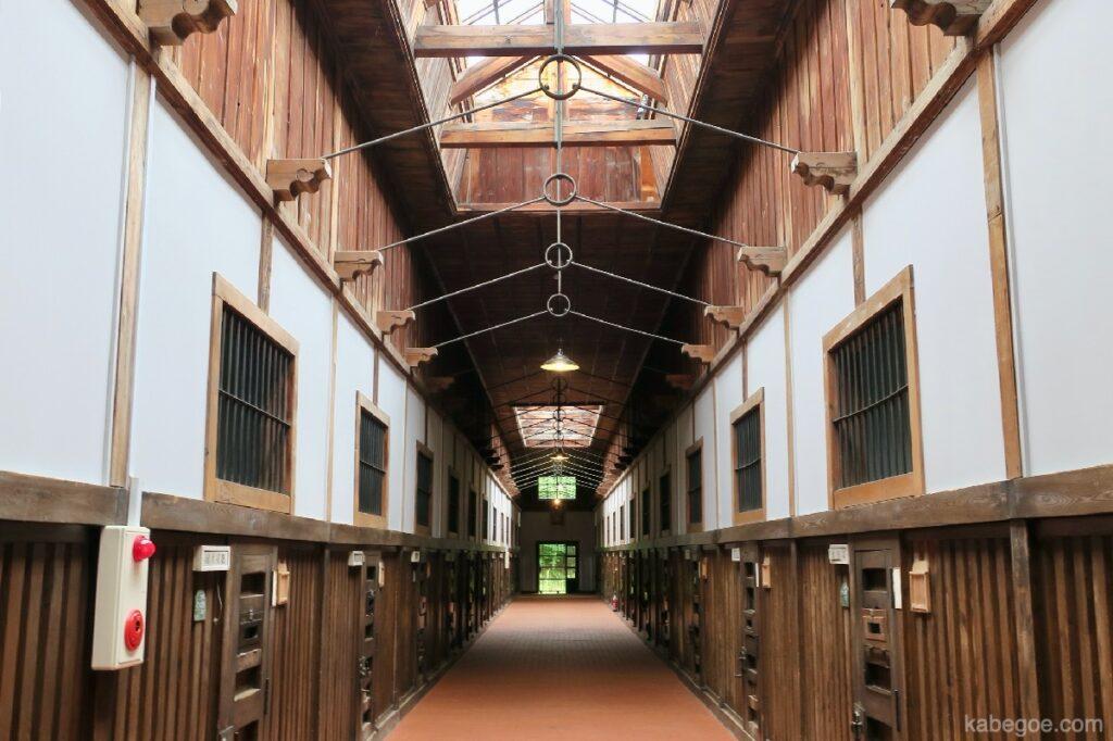 網走監獄の廊下