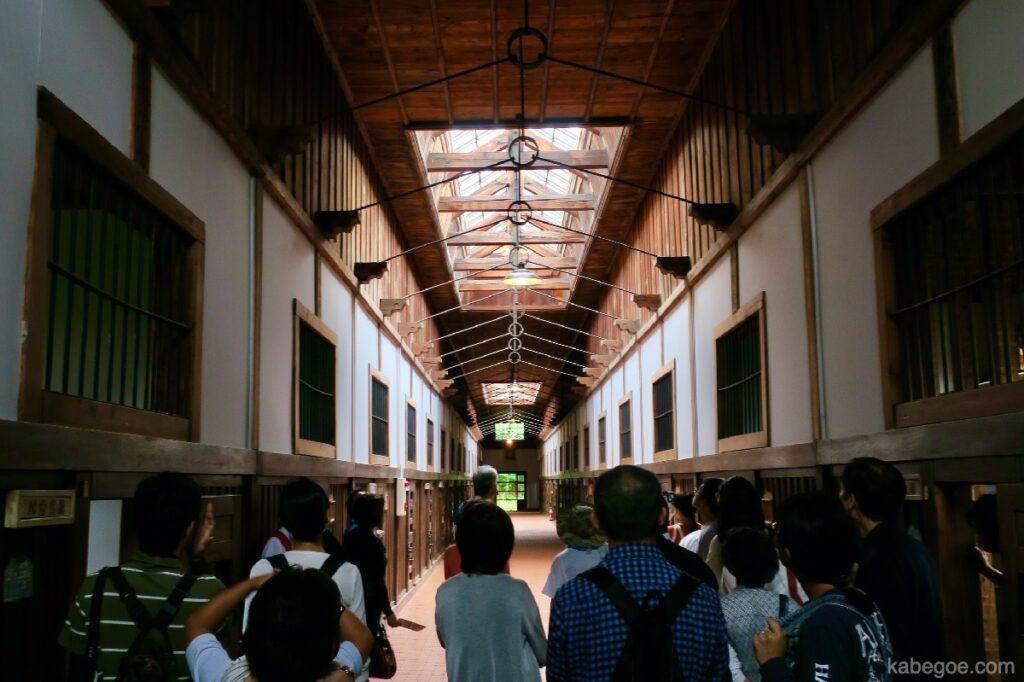 網走監獄の舎房及び中央見張所