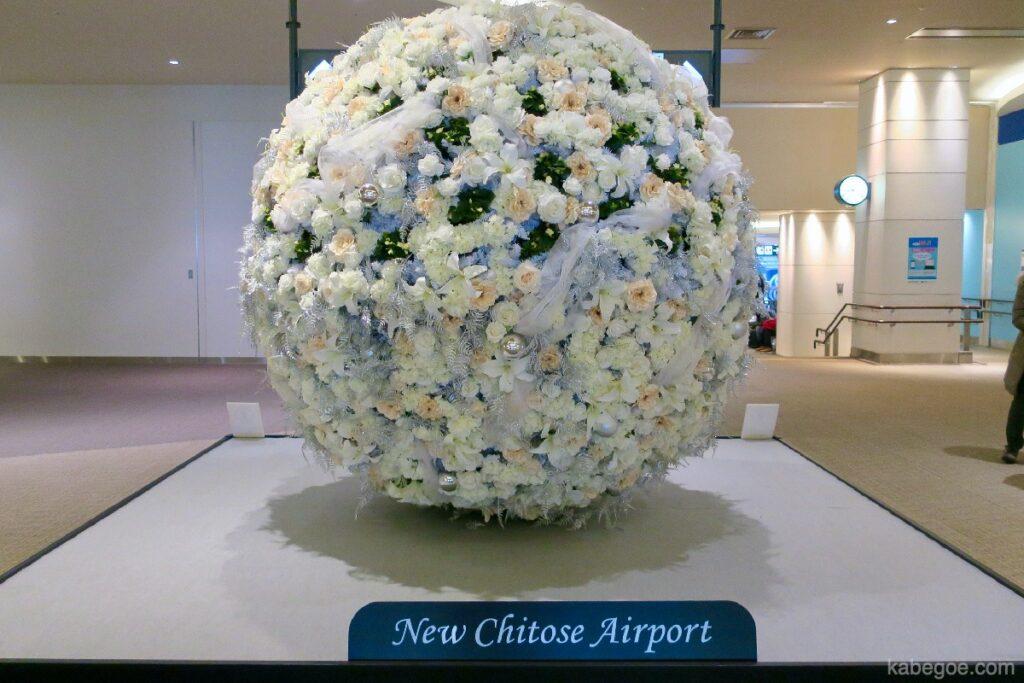 Fiori all'Aeroporto di New Chitose