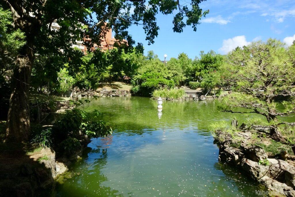 福州園の風景
