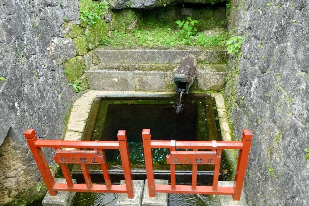 首里城の龍樋(りゅうひ)