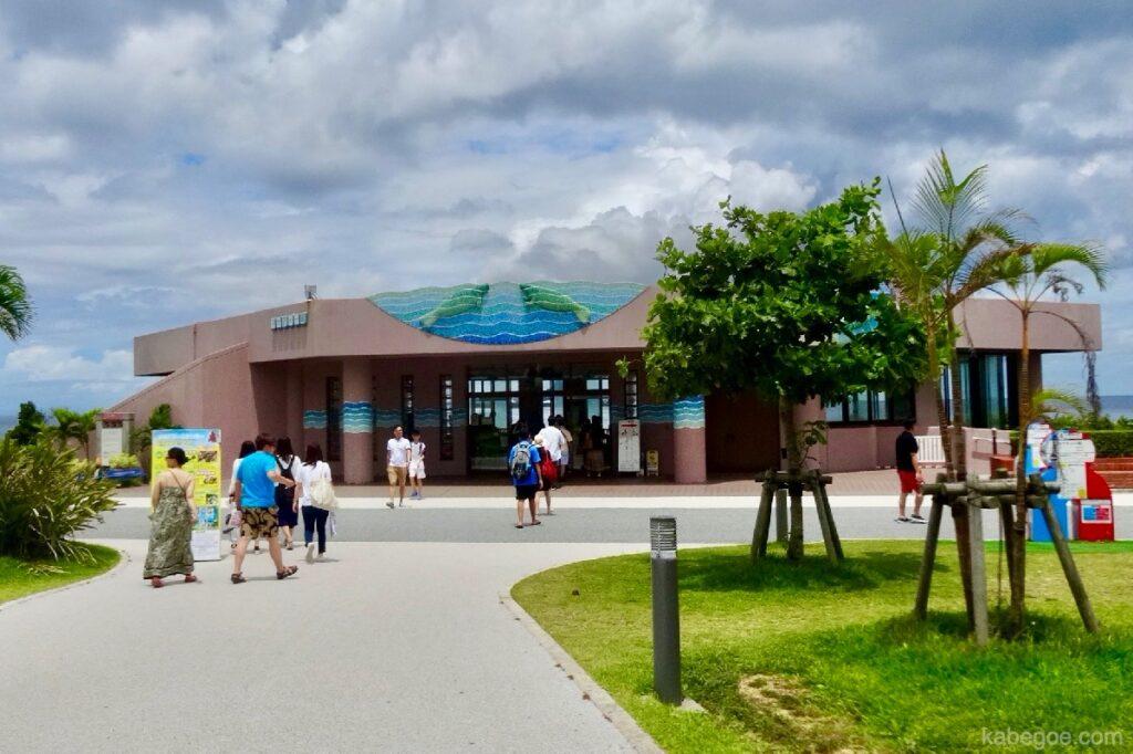 美ら海水族館のマナティー館