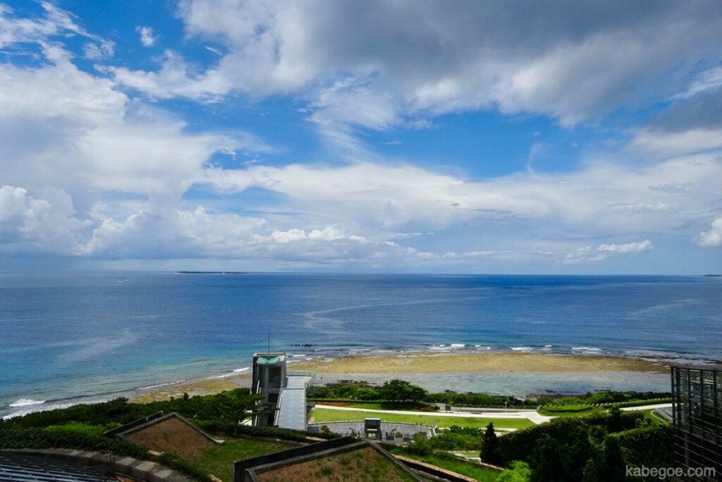熱帯ドリームセンターの展望台からの風景