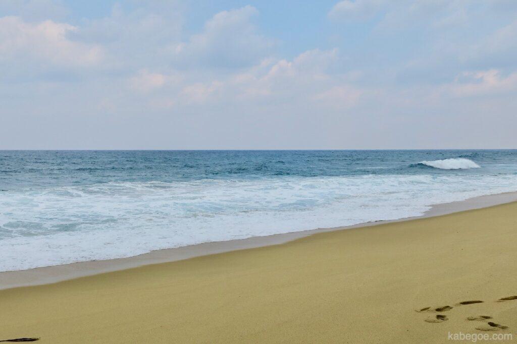 屋久島の永田いなか浜の海岸