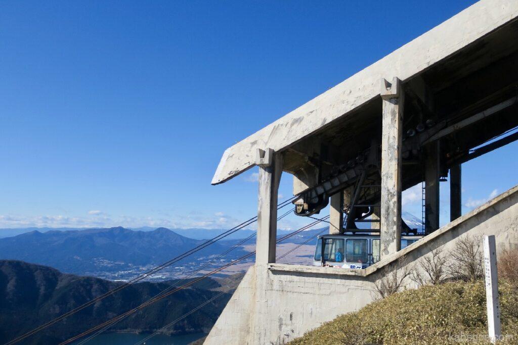 駒ヶ岳ロープウェーの頂上からの景色