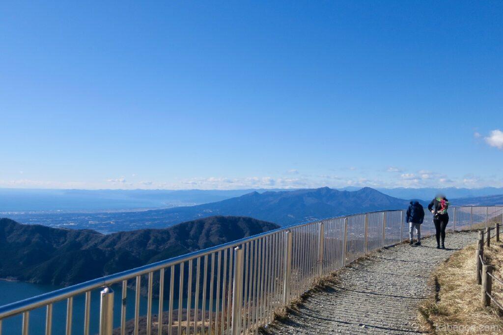 駒ヶ岳の散策路