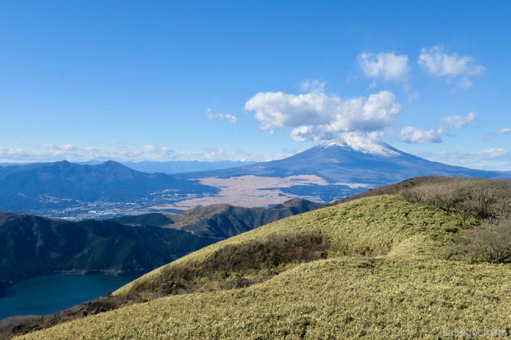 駒ヶ岳ロープウェーの頂上からの富士山