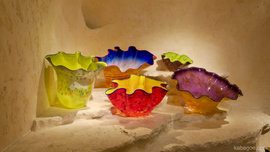 Dale Chihuly all'Hakone Glass Forest Museum