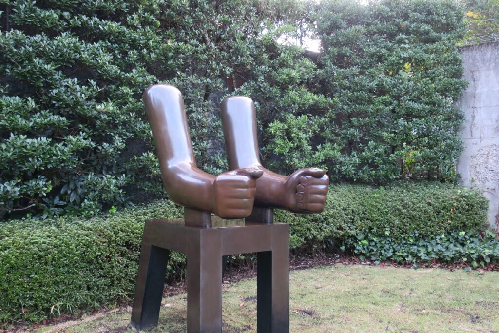 箱根彫刻の森美術館のオブジェ