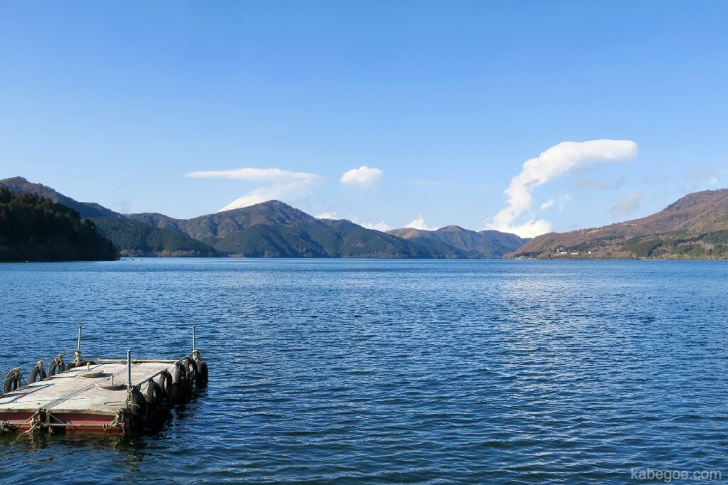Pemandangan Danau Ashi