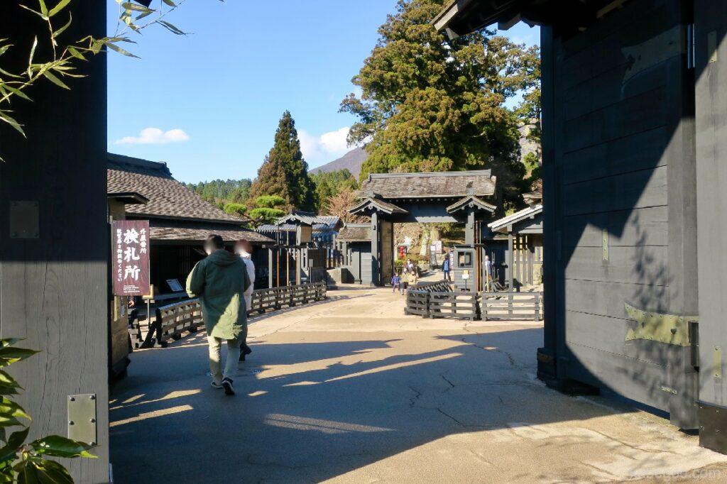 Gerbang masuk Hakone Sekisho