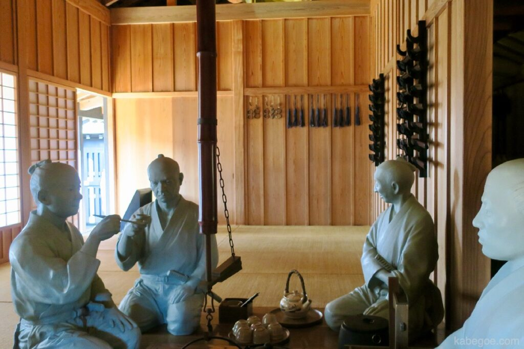 Tempat peristirahatan di Hakone Sekisho