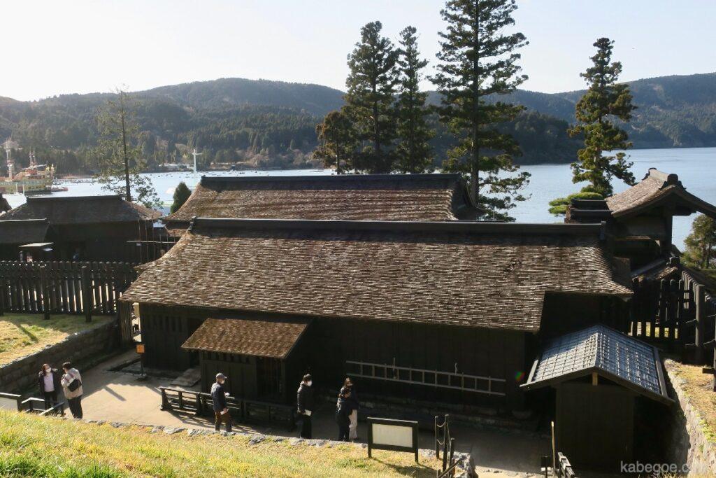 Pemandangan panorama Hakone Sekisho