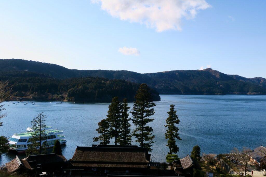 Pemandangan dari Hakone Sekisho